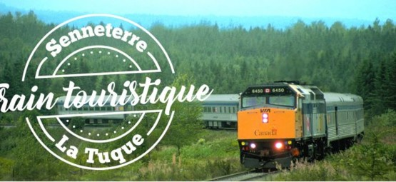 Senneterre La Tuque by train